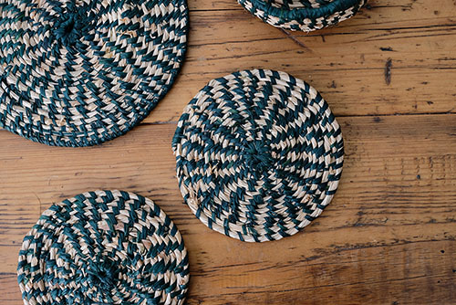 Basketweaving - Coiling with Raffia